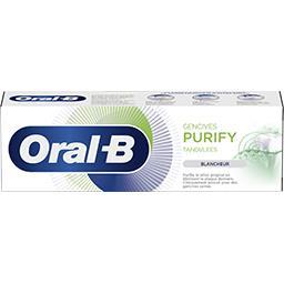 Oral B Oral B Dentifrice gencives purify blancheur Le tube de 75ml