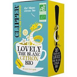 Clipper Clipper Thé blanc citron BIO Lovely la boite de 20 sachets - 34 g