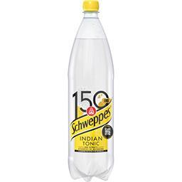 Schweppes Schweppes Indian Tonic - Soda aux extraits d'écorces de quinquina la bouteille de 1,5 l