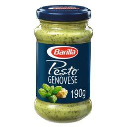 Barilla Barilla Sauce Pesto alla genovese et au basilic frais le pot de 190g