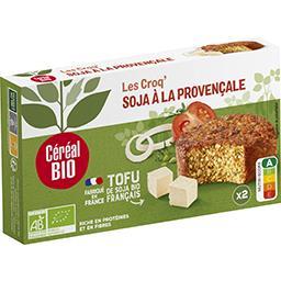 Céréal Bio Céréal Bio Croq'soja à la provençale BIO la boite de 2 - 200 g