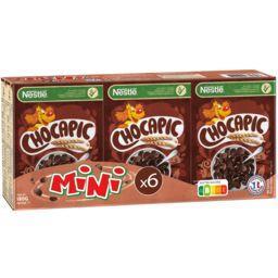Nestlé Nestlé Céréales Chocapic - Céréales au chocolat les 6 boites de 30 g