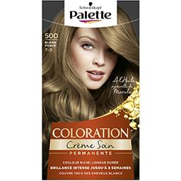 Saint Algue Schwarzkopf Palette - Coloration crème soin Blond Foncé 500 la boite de 115 ml