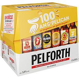Pelforth Pelforth Bière blonde les 12 bouteilles de 25cl