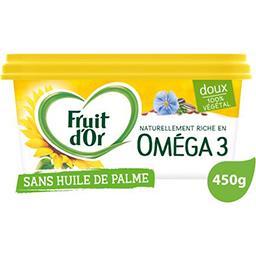 Fruit d'Or Fruit d'Or Margarine omega 3 sans huile de palme doux la barquette de 450g