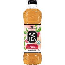 May Tea May Tea Thé blanc infusé parfum framboise la bouteille de 1 l