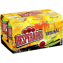 Desperados Desperados Original - Bière aromatisée Tequila les 6 canettes de 33cl