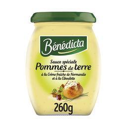 Bénédicta Bénédicta Sauce spéciale pommes de terre le pot de 260 g