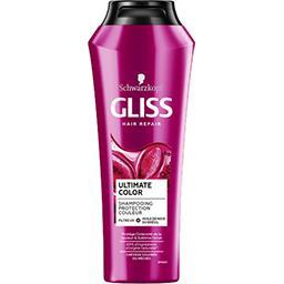 Schwarzkopf Schwarzkopf Gliss - Shampooing Ultimate Color cheveux colorés, méchés le flacon de 250 ml