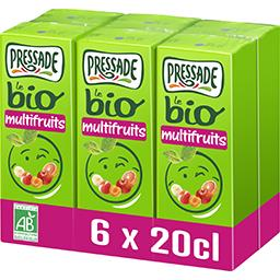 Pressade Pressade Nectar multifruits BIO les 6 briquettes de 20 cl