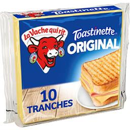 La vache qui rit La Vache qui rit Toastinette - Fromage fondu pour croque monsieur le paquet de 10 tranches - 200 g