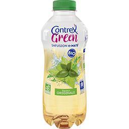 Contrex Contrex Green - Boisson infusion de Maté saveur originale BIO la bouteille de 75 cl