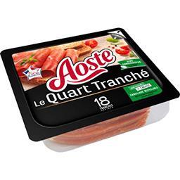 Aoste Aoste Jambon cru Le Quart tranché la barquette de 220 g