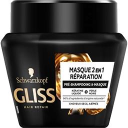 Schwarzkopf Schwarzkopf Pré-shampoing & masque Gliss - Ultimate Repair cheveux abîmés, secs 300ml