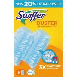 Swiffer Swiffer Recharges lingettes poussière duster attrape & retient, parfum febreze Le paquet de 9