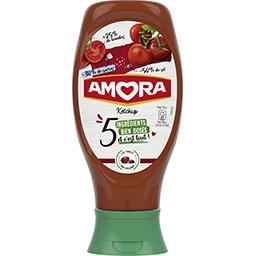Amora Amora Tomato ketchup 5 ingrédients, le flacon de 468g 468g