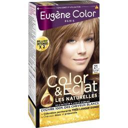 Eugène Color Eugène Color Crème colorante permanente blond foncé la boite de 135ml