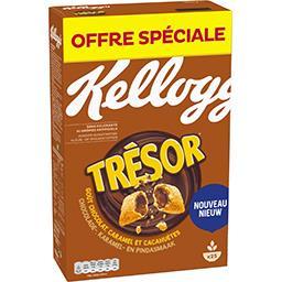 Kellogg's Kellogg's Céréales fourrées goût chocolat caramel et cacahuètes la boite de 750 g - Offre spéciale