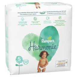 Pampers Pampers Couches Harmonie T5 le paquet de 24 couches