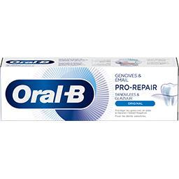 Oral B Oral B Dentifrice pro-repair gencives et émail original Le tube de 75ml