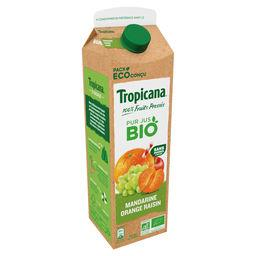 Tropicana Tropicana Pur jus mandarine orange raisin Bio la brique de 85cl