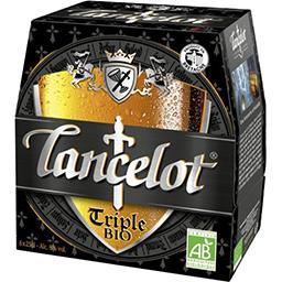 Brasserie Lancelot Lancelot Bière triple BIO les 6 bouteilles de 25 cl