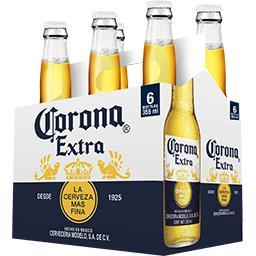 Corona Extra Corona Extra - Bière du Mexique les 6 bouteilles de 35,5 cl