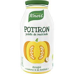 Knorr Knorr Soupe de potiron pointe de muscade la bouteille de 0,45 l