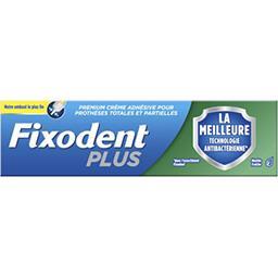 Fixodent Fixodent Crème adhésive antibacterienne pour prothèses dentaires Le tube de 40g