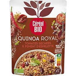 Céréal Bio Céréal Bio Quinoa royal tomates séchées et piment d'espelette le sachet de 220g