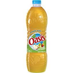 Oasis Oasis Boisson à l'eau de source pomme poire la bouteille de 2 l