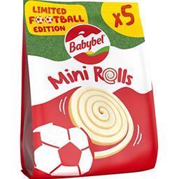 Babybel Babybel Mini - Fromage mini roulés les 5 sachets de 17 g