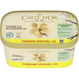 Carte d'Or Carte d'Or Crème glacée vanille de Madagascar le bac de 629g