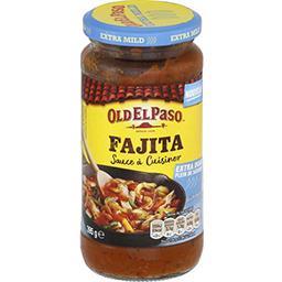 Old El Paso Old El Paso Sauce à cuisiner Fajita extra doux le bocal de 395 g