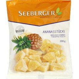 Seeberger Seeberger Ananas sucrés séchés le sachet de 200 gr environ