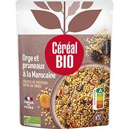 Céréal Bio Céréal Bio Cuisiné orge & pruneaux à la marocaine BIO le sachet de 220 g