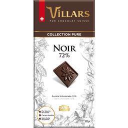 Villars Villars Chocolat noir 72% la tablette de 100 g