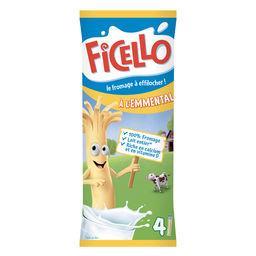 Ficello Ficello Bâtonnets de fromage à l'emmental les 4 bâtonnets de 21 g