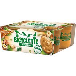 A Bicyclette A Bicyclette Dessert à l'avoine noisette les 4 pots de 100 g