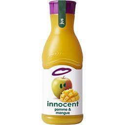 Innocent Innocent Pur jus de fruits pressés pomme & mangue la bouteille de 900 ml