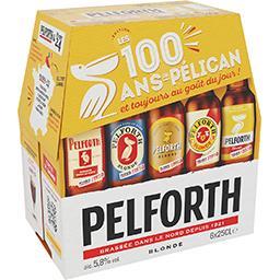 Pelforth Pelforth Bière blonde les 6 bouteilles de 25cl