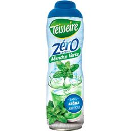 Teisseire Teisseire Sirop menthe verte zéro sucres le bidon de 60 cl