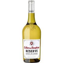 Cellier des dauphins Cellier des dauphins Vin blanc Côtes du Rhône Reserve la bouteille de 75cl