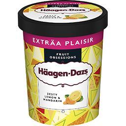 Häagen-Dazs Haagen-Dazs Crème glacée au citron et au jus de mandarine le pot de 650 ml