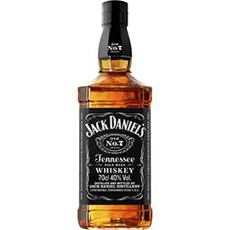 Jack Daniel's Jack Daniel's Whisky Tennessee Old n°7 la bouteille de 70 cl