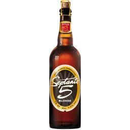 Grain d'Orge Septante 5 Bière blonde de haute fermentation la bouteille de 75 cl