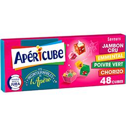 Apéricube Apéricube Fromage fondu apéritif incontournable de l'apéro la boite de 48 cubes - 250 g