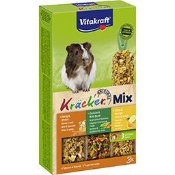 Vitakraft Vitakraft Kräcker Mix, aliment pour cochons d'Inde la boite de 3 - 168 g