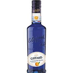 Giffard Giffard Liqueur Curaçao bleu la bouteille de 350 ml