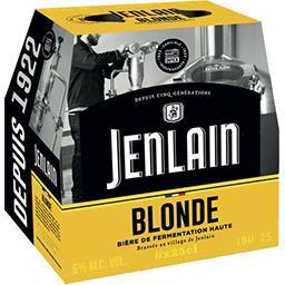Jenlain Jenlain Bière blonde les 6 bouteilles de 25 cl